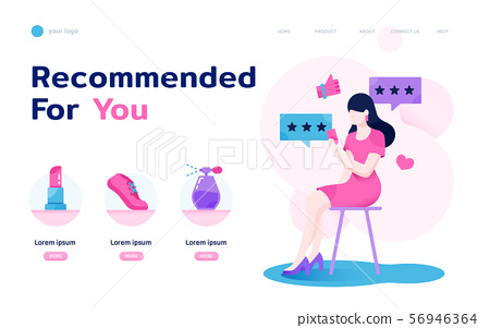 Sheconomy landing page layout 56946364