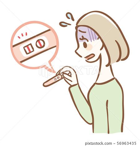 임신 검사 약 양성 임신 초조해 56963435