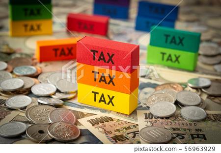 세금 TAX 56963929