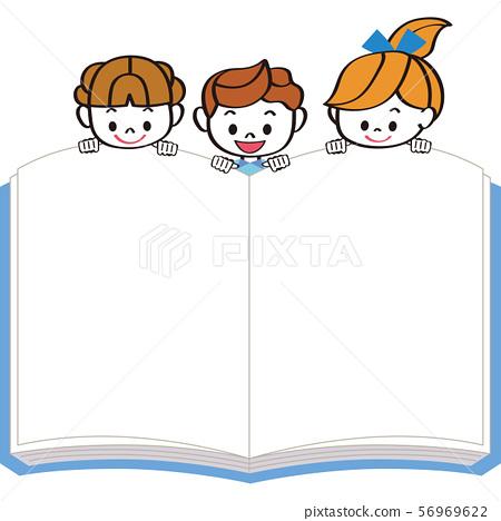 孩子們在邊緣看書 56969622