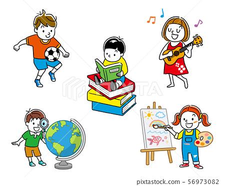 Children: sets, variations 56973082