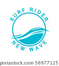 Surf Rider Design - surf rider graphic design vector 56977125