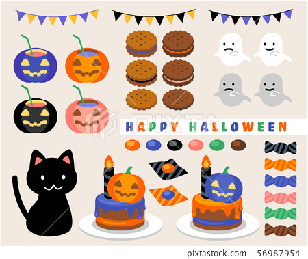 Halloween set_colorful 56987954