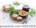 อาหารเช้ามื้อฟักทอง 56991858