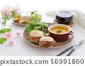 อาหารเช้ามื้อฟักทอง 56991860