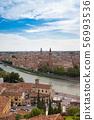มรดกโลกทางวัฒนธรรมเวโรนา cityscape อิตาลี 56993536