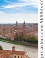 มรดกโลกทางวัฒนธรรมเวโรนา cityscape อิตาลี 56993537