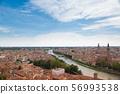 มรดกโลกทางวัฒนธรรมเวโรนา cityscape อิตาลี 56993538
