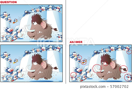錯誤測驗,猛獁象和企鵝 57002702