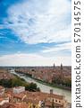 มรดกโลกทางวัฒนธรรมเวโรนา cityscape อิตาลี 57014575
