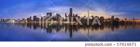 New York City skyline 57014671
