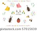 곤충의 일러스트 57015639