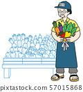 蔬菜水果商的所有者,無農藥 57015868
