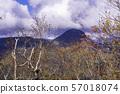 (군마현) 만자 온천 측에서 원하는, 시가 고원의 산들 가을 57018074