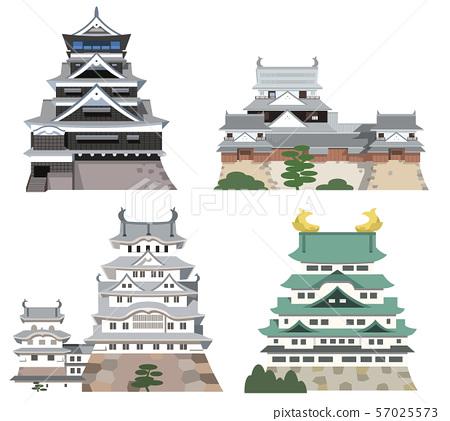 視線圖像圖標4日本城堡 57025573