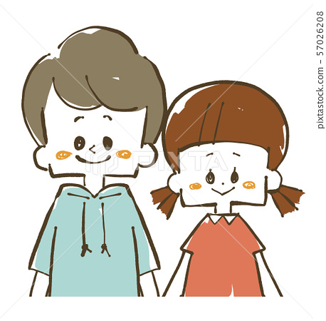 Boys and Girls-Brother and Sister 57026208