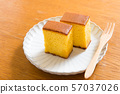 Castella, sweets, snacks, sweets, baked sweets, Wasanbon 57037026