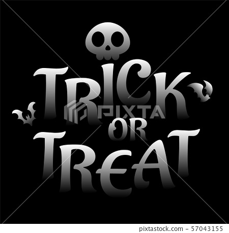 Halloween lettering 57043155