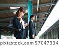 통근 여성 전철 비즈니스 우먼 촬영 협조 : 게이오 전철 주식회사 57047334