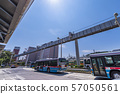 Scenery in front of Ofuna Station Monorail and bus terminal 57050561