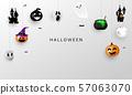 Halloween Carnival Background, 57063070