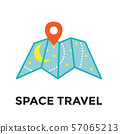 Space Travel icon - Galactic Map - Tourism to 57065213