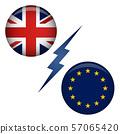 BREXIT UK Referendum Exit Graphic 57065420