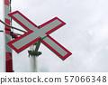 train railroad x sign warning crossing railway 57066348