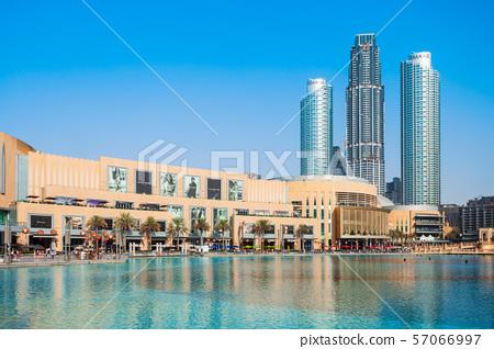 Dubai Mall in Dubai, UAE 57066997