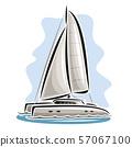 Vector logo of Sailing Catamaran 57067100