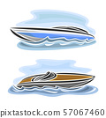Vector logo for Speed Boats 57067460