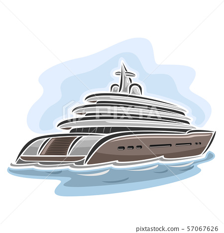 Vector logo for Mega Yacht 57067626