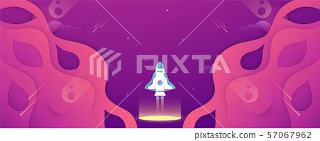Space background design for future. 57067962