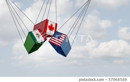 USMCA North America Trade 57068589