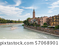 มรดกโลกทางวัฒนธรรมเวโรนา cityscape อิตาลี 57068901