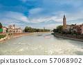 มรดกโลกทางวัฒนธรรมเวโรนา cityscape อิตาลี 57068902