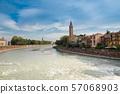 มรดกโลกทางวัฒนธรรมเวโรนา cityscape อิตาลี 57068903