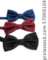 male bow tie isolated 57069104