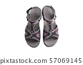 female sandals isolated 57069145