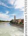 มรดกโลกทางวัฒนธรรมเวโรนา cityscape อิตาลี 57070303