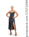 Full length portrait of beautiful middle-aged lady 57072096