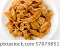 닭 껍질의 바삭 바삭 튀김 57074651