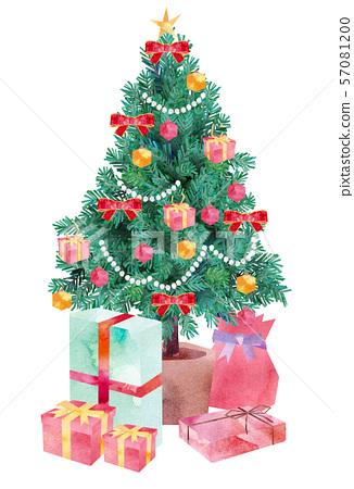 크리스마스 트리 선물 57081200
