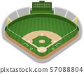 ภาพประกอบสนามเบสบอล 57088804