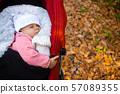 autumn, baby, girl 57089355