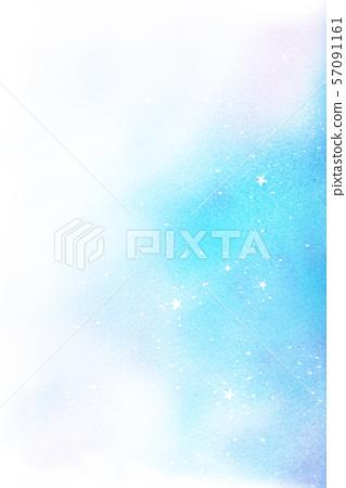 Starry sky watercolor texture 57091161