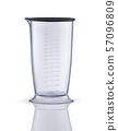 glass kitchen cup with scale 57096809