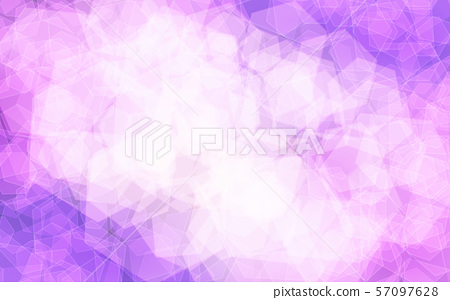 Purple abstract hexagons, background texture 57097628