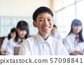 중학생, 컴퓨터, 클럽, 교실 수업 57098841