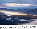 Mountain landscape with beautiful sunlight, 57101794